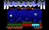 Hobgoblin Amstrad CPC Jumping across a wide gorge