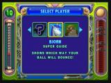 Peggle Zeebo Selecting player in adventure mode. New players must be unlocked as the player progresses through the adventure mode.