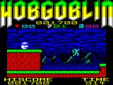 Hobgoblin ZX Spectrum Jumping, with some visible tearing