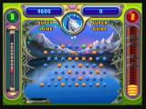 "Peggle Zeebo Hitting a green peg will activate the special power for that character. Bjorn's special power is the ""Super Guide"". It shows the trajectory the ball will take after it bounces."
