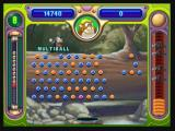 "Peggle Zeebo The Peggle Master unlocked in Stage Two is Jimmy Lightning. His power, ""Multiball"", splits the ball in two."