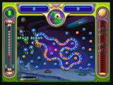 "Peggle Zeebo Stage 5 has Splork as a new player. His special power is the ""Super Blast"", which lights up all pegs nearby the green one."