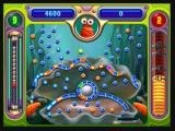 "Peggle Zeebo Claude, the player unlocked in stage 6, has ""Flippers"" as his special power. When the green peg is hit, two flippers are added to the bottom of the screen as in a pinball game."