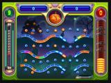 "Peggle Zeebo In stage 7 Reinfield will join the roster of players. His special power is the ""Spooky Ball"", which makes the ball reappear in the top of the screen after falling through the bottom."