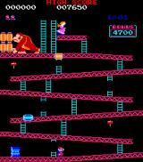 Donkey Kong Arcade You play as Mario, a man with moustaches and plumber overalls