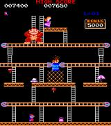 Donkey Kong Arcade Screen 2 takes place in a pie factory