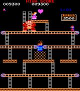 Donkey Kong Arcade Again, Mario and Pauline are reunited...