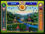 Peggle Zeebo If your shot misses all pegs, a coin will be flipped. You can either lose that ball or get a free one.