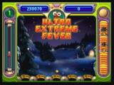 "Peggle Zeebo Clearing all pegs gives you ""Ultra Extreme Fever"". All slots award 100,000."