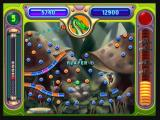 Peggle Zeebo A Duel in course. Players take turns trying to score more points.