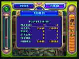 Peggle Zeebo Player 2 wins the duel.