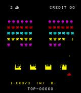 Space Fever Arcade Your ship turns red when you fire