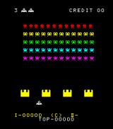Space Fever Arcade Game C plays almost exactly like the original Space Invaders