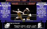 MicroLeague Wrestling Commodore 64 Hulk fights back.