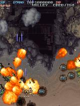 Battle Garegga Arcade Some explosions