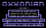 Oxxonian Commodore 64 Title Screen.