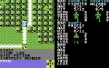 Phantasie III: The Wrath of Nikademus Commodore 64 Moving through a forest.