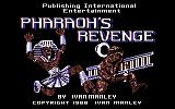 Pharaoh's Revenge Commodore 64 Loading Screen.