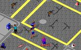 Rollerblade Racer DOS Lot's of traffic in this city... (EGA)