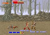 Golden Axe Arcade Fight! Tyris is furious