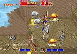 Golden Axe Arcade Small explosions...