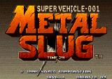 Metal Slug: Super Vehicle - 001 Arcade Title screen