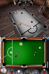 Actua Pool Nintendo DS You can use help icon to mark the ball you need to put in the hole next.