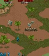 Commando Arcade Typical shooter scene