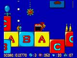 Alfred Chicken Amiga Snails shoot upwards