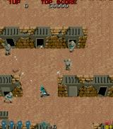 Commando Arcade Enemy camp