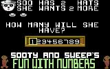 Sooty's Fun With Numbers Commodore 64 Soo's Hats