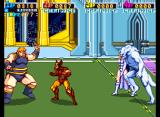X-Men Arcade 3 bosses on one screen! Great!