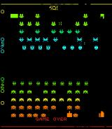 Space Invaders II Arcade Game over
