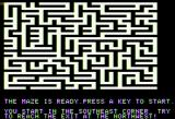 Maze Game Apple II And now for something bigger...