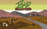 Bad Blood Commodore 64 Title screen
