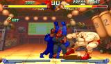 Street Fighter Alpha 2 Arcade Akuma's angry hits