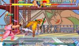 Street Fighter Alpha 2 Arcade Rolento's stage - big lift from Final Fight industry zone