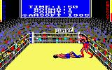3D Boxing Amstrad CPC Knock-Down.