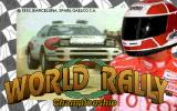 World Rally Championship Arcade Title Screen.