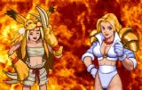 Golden Axe: The Duel Arcade Jamom vs Milla Flare