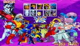 X-Men: Children of the Atom Arcade Character select