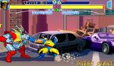 X-Men: Children of the Atom Arcade Claws in face!