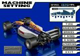 Formula One World Championship: Beyond the Limit SEGA CD Many parameters can be adjusted on the cars.