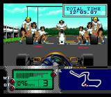 Formula One World Championship: Beyond the Limit SEGA CD Your Pit Crew