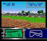 Formula One World Championship: Beyond the Limit SEGA CD After racing, the camera pans around your car.