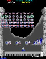 Return of the Invaders Arcade Second level is more similar to classic Space Invaders