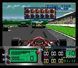 Formula One World Championship: Beyond the Limit SEGA CD At the starting line