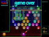 Bubble Puzzle 97 Windows Game over