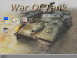 War of Tank Windows Title screen with main menu