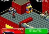 Escape from the Planet of the Robot Monsters Arcade Rescue the hostage.